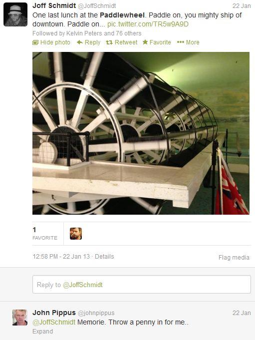 Paddlewheel tweets 2