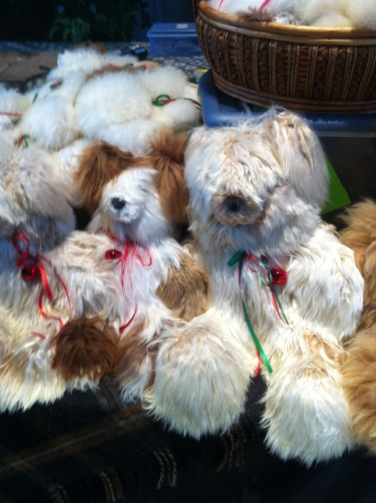 Alpaca teddy bears!