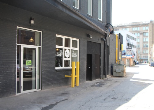 The Urban Bakery Downtown Winnipeg