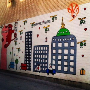 Graham Ave Mural