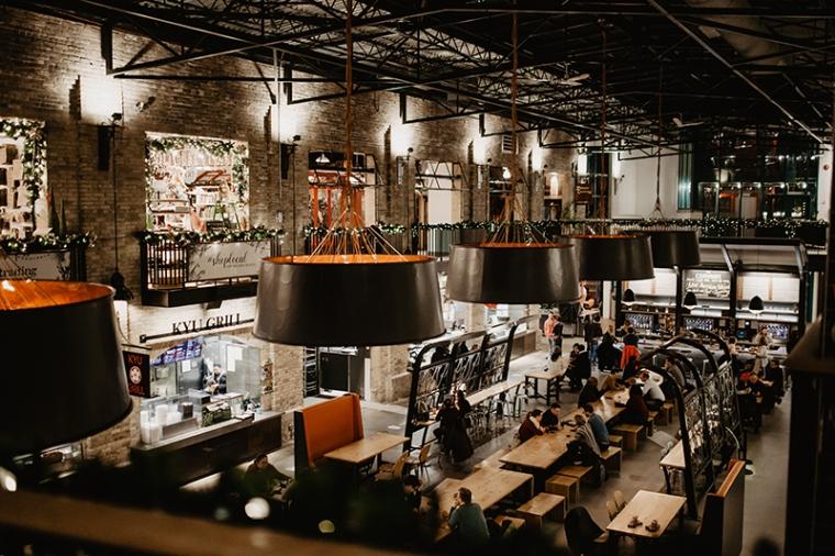 The Forks food hall